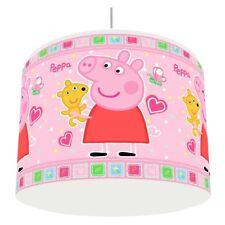 PEPPA PIG PINK LIGHT LAMPSHADE KIDS ROOM matches duvet set   FREE P&P