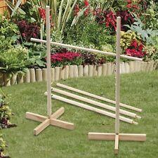 Garden Limbo Game Outdoor Indoor Wooden Party Game 1.7m Tall Garden Family Fun