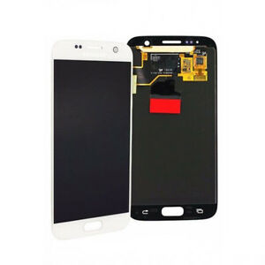 Original Samsung Galaxy S7 White GH97-18523D LCD Touch Screen Digitizer SM-G930F