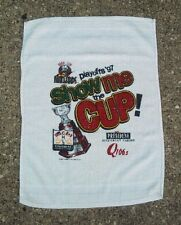 Quad City Mallards 1997 Colonial Cup Finals Rally Towel ~ Show Me The Cup ~ CoHL