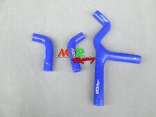 for KTM 450SX 525SX 2003 2004 2005 2006 silicone radiator hose blue