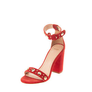RRP €225 MAJE Suede Leather Ankle Strap Sandals EU 35 UK 2 US 5 Made in Portugal
