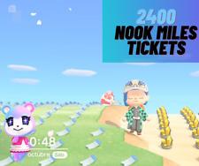 🔥🔥FLASH SALE🔥🔥 Nook Miles Tickets x 2400❣️ONLINE❣️