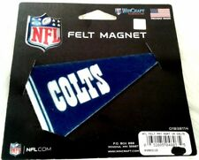WinCraft Indianapolis Colts Mini Felt Pennant Magnet NFL Made In USA New Gear