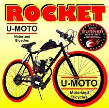 "DIY 2-STROKE 66CC/80CC MOTORIZED BIKE KIT WITH 26"" CRUISER BIKE FOR MOTOR BIKE!"