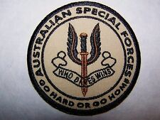 Australia Australian Special Forces Special Air Service Go Hard or Go Home Patch