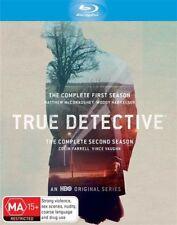 True Detective : Season 1-2 (Blu-ray, 2016, 6-Disc Set)