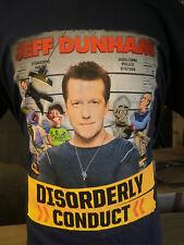 Jeff Dunham Lg Shirt Disorderly Conduct Bubba J Walter Peanut Achmed New Tour