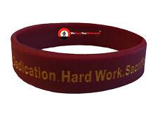 DEDICATION HARD WORK SACRIFICE Wristband Motivational Inspirational Ionic Ions