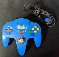 N64 Nintendo 64 Controller Pikachu Blue from japan