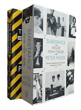 Peter Hook 2 Book Pack Hacienda Substance Joy Division New Order New