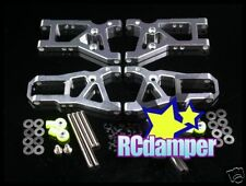 ALUMINUM FRONT & REAR LOWER ARM S HPI NITRO RS4 2 II RACER 2 ALLOY SUSPENSION