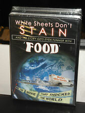 White Sheets Don't Stain / Food (DVD) S Split Comedy! Two Films! One Story!