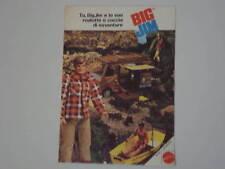 advertising Pubblicità 1973 BIG JIM ROULOTTE MATTEL