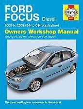 buy ford focus haynes car manuals and literature ebay rh ebay co uk 2008 Ford Focus RS Ford Focus 2008 ManualDownload