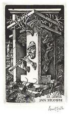 Ex Libris Lou Strik : Opus 186, Jan Stomph