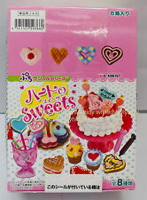 Miniatures Heart Of Sweets Box Set - Re-ment RARE , #4ok