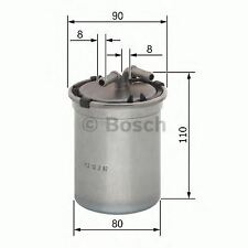 BOSCH ENGINE FUEL FILTER OE QUALITY REPLACEMENT 0450906500