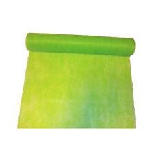 """Chemin de table """"Elégance"""" vert anis en intissé 10 m x 30 [c3030039] decoration"""
