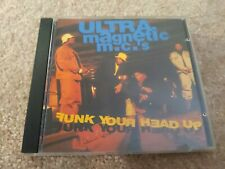 ULTRAmagnetic MCs - Funk Your Head Up CD. Cool parental advisory sticker!