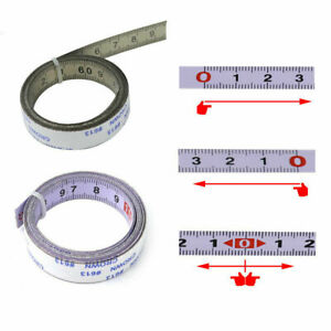 For Miter Saw Self Adhesive Track Tapes Metric Rulers Scale Ruler Tape Measure