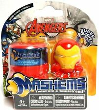 Marvel  IRON MAN Mash'Ems Pack With Carry Case - New/Factory Sealed (SAMPLE)