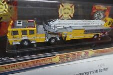 Code 3 Chino Valley,Ca. Fire District AERIAL LADDER Fire Truck 1:64 #12669