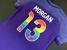 Nike NWSL Orlando Pride ALEX MORGAN Soccer Jersey USWNT USA Rainbow Aeroswift
