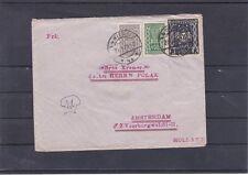 Brief Wien - Amsterdam frankiert mit Wert aus Frauenkopf 1922 und Kornährensatz