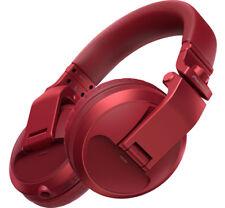 Pioneer HDJ-X5BT-R Bluetooth Wireless Over-Ear DJ Headphones (Red)
