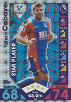 CRYSTAL PALACE MATCH ATTAX 2016 2017 16/17 CHOOSE YOUR BASE CARDS #73-90