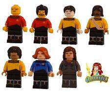 Custom LEGO minifigure Choice Star Trek The Next Generation Crew Machine Print