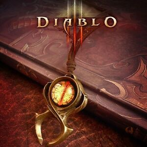 Hot Diablo 3 Watchmen Guardian Horadrim's Amulet Leah's Necklace Pendant