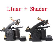 2pc Premium Dragon Handmade Tattoo Machine Gun Carbon Steel Liner Shader 26mm US