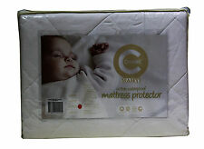 Crestell- Cotton Filled Waterproof  Cradle Cot Mattress Protector