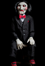 SAW movie-Billy puppet prop replica~Trick or Treat~Halloween decor~Jigsaw~New
