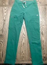Figs Yola Skinny Scrub Pants Limited Edition Hunter Green Color Sz. Xxs