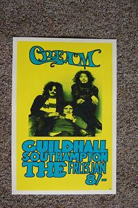 Cream concert poster 1967 Southamptom --