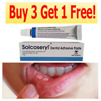 SOLCOSERYL DENTAL ADHESIVE PASTE 5G. FOR PIANFUL ULCERS // Buy 3 Get 1 Free!!