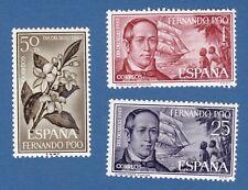 Fernando Poo 1964 stamp day giornata del francobollo fiori flowers flora MNH**og