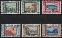Italy - 1933 - Scott # C42 thru C47 - Complete Zeppelin Set - Mint OG LH