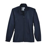 Page & Tuttle Embossed Windbreaker Womens  Coats Jackets Outerwear Casual