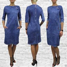 3/4 Arm Stretchkleider aus Polyester für die Freizeit