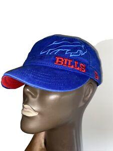 BUFFALO BILLS Painter Hat Women's NEW ERA Adjustable Sewn Logo OSFA NFL AFC EAST