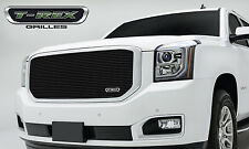 2015 GMC YUKON YUKON XL 1PC BLACK REPLACEMENT BILLET GRILLE GRILL T-REX