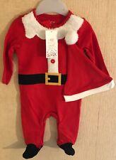 Baby-Navidad - 2pc Traje De Santa - 0-3 meses-Nuevo
