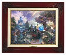 Thomas Kinkade Cinderella Canvas Classic (Brandy Frame) Disney