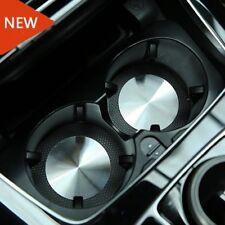2pcs Steel Cup Holder Mat for Mercedes benz A B C E CLA GLA GLC GL Class