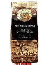 Royal Kona 10% Kona Coffee Blend, Mountain Roast - Ground 8 oz