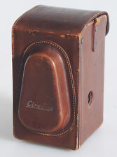 BROWN LEATHER CIROFLEX TLR CASE
